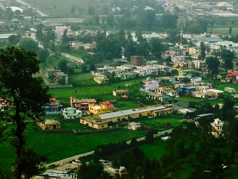 Bhimtal Valley View from Fern Hillside Resort